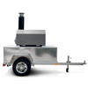 CBO-750 Tailgater Mobile Pizza Ovens in silver vein