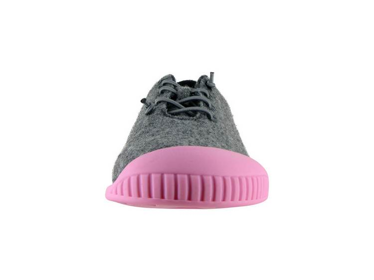 Fit Lace-Up Slipper Light Grey