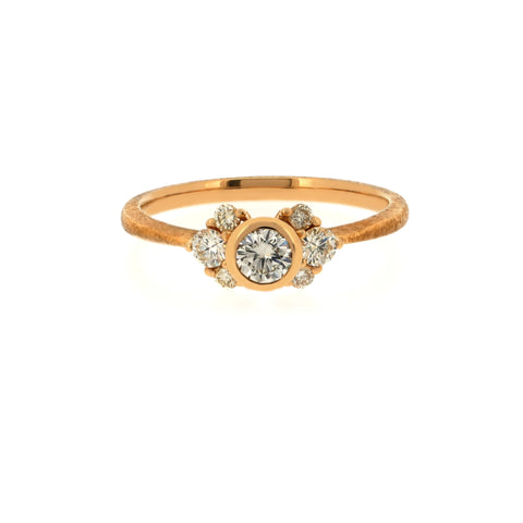 18K Yellow Gold Yellow Diamond RING | 18K 黃金黃鉆戒指
