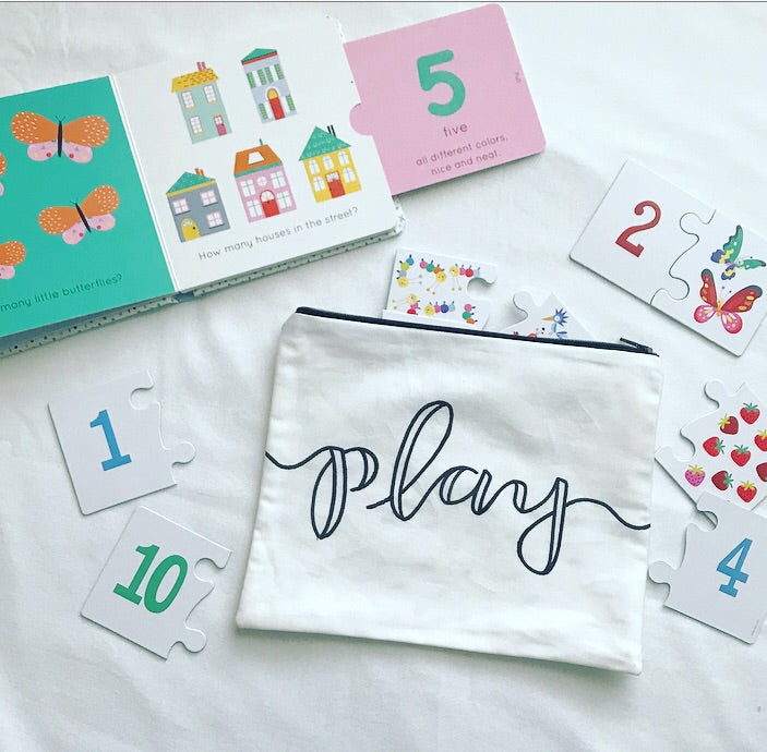 "the ""play"" pouch"