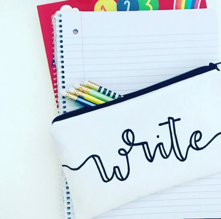 "the ""write"" pouch"