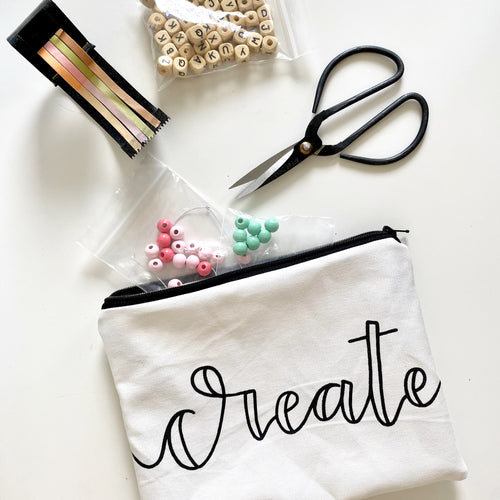 "the ""create"" pouch"