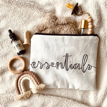 "the ""essentials"" pouch"