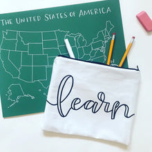 "the ""learn"" pouch"