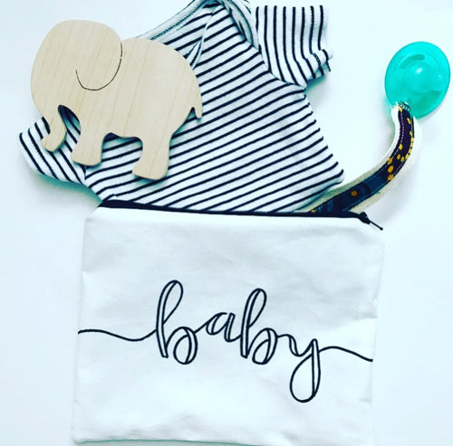 "the ""baby"" pouch"