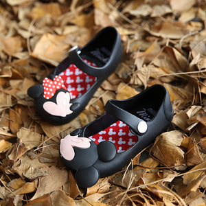 438dcf52ab25 MINISED MICKEY MINNIE MARY JANE FLATS SANDALS JELLY SHOES – PICKY PICK