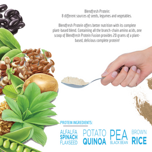 Blend fresh Plant-Based Whole Food Protein