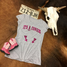 It's a Cowgirl Maternity Tee