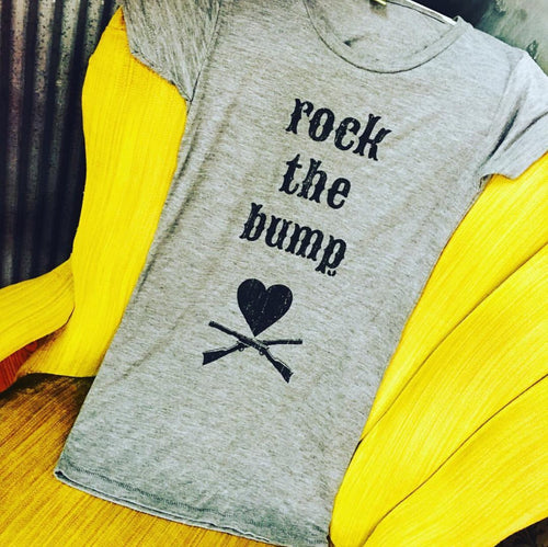 Rock The Bump Maternity Tee