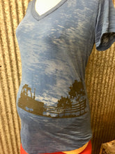 Tractor On Farm Maternity Tee