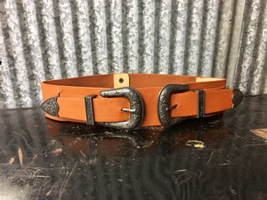 Tan Buckle Belt