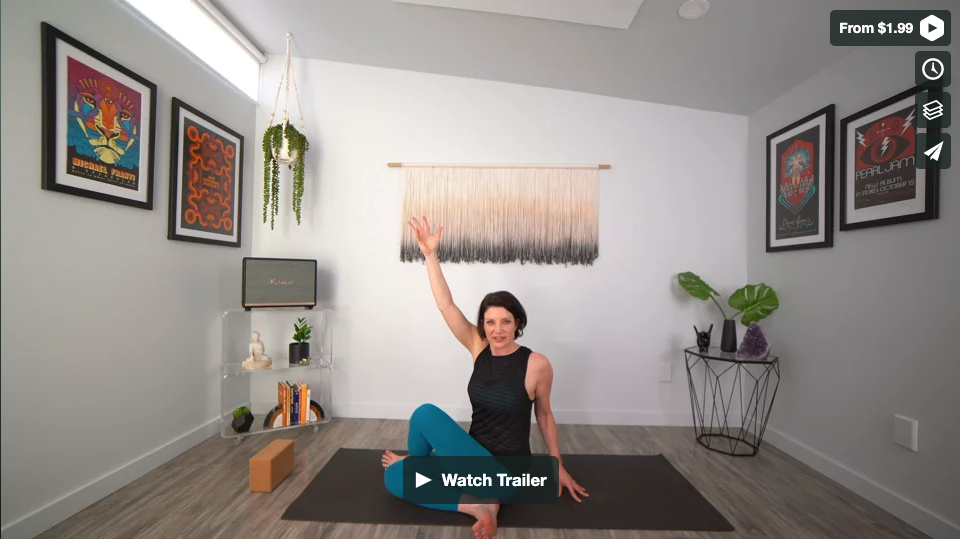 The HIPness Yoga Home Practice with Gina Caputo