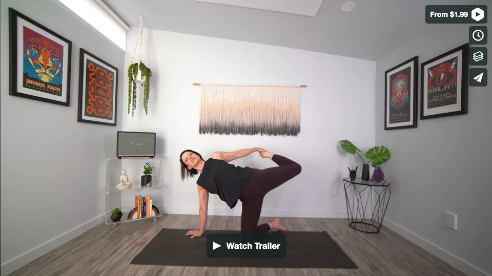 Mood Lifter Yoga Home Practice with Gina Caputo