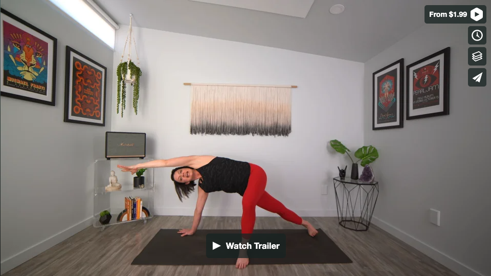 Know Your Own Strength Yoga Home Practice with Gina Caputo