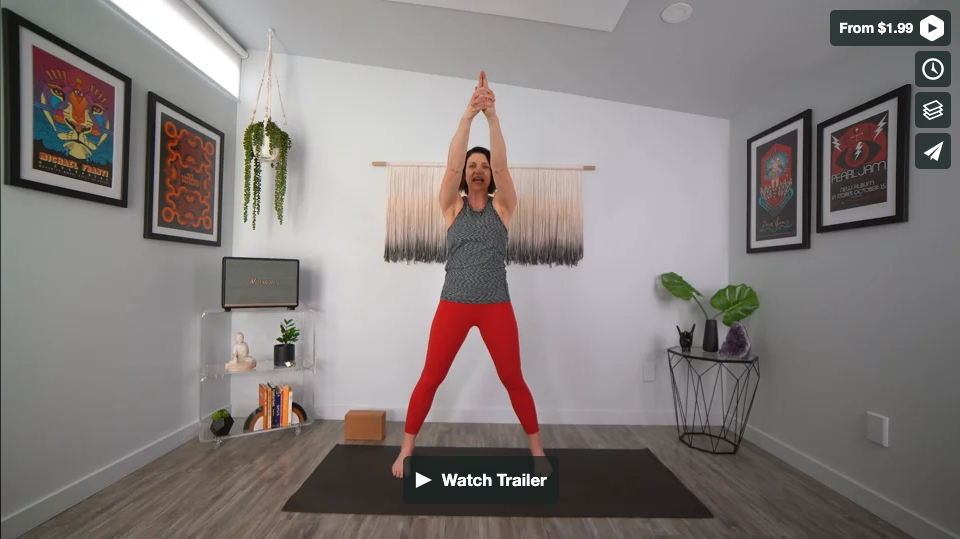 Invincible Yoga Home Practice with Gina Caputo