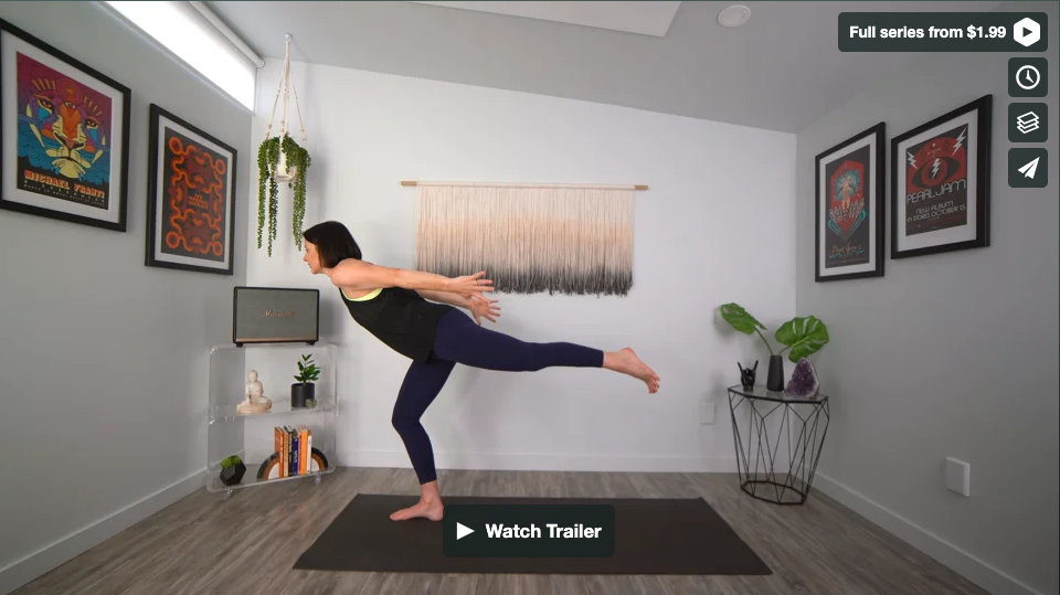 Run With It Yoga Home Practice with Gina Caputo