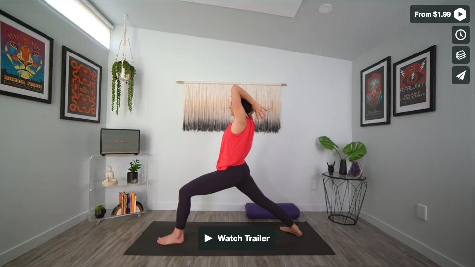 Neck & Shoulders Tension Relief Yoga Home Practice with Gina Caputo