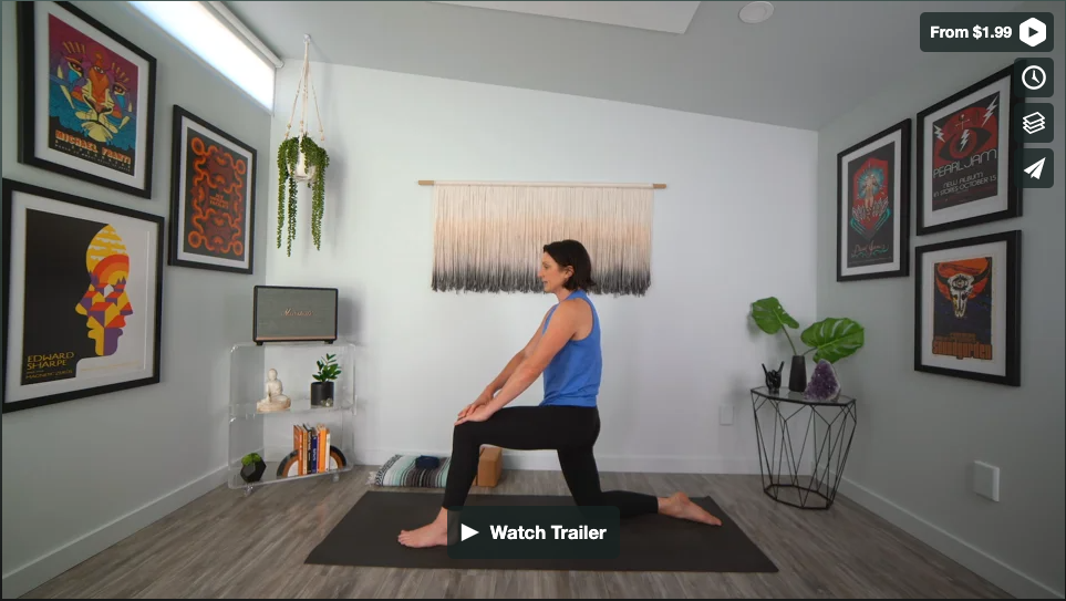 Low Back Love Yoga Home Practice with Gina Caputo