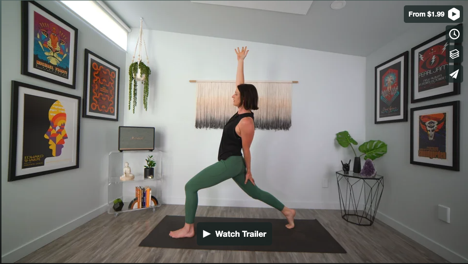 Here Comes The Sun Yoga Home Practice with Gina Caputo