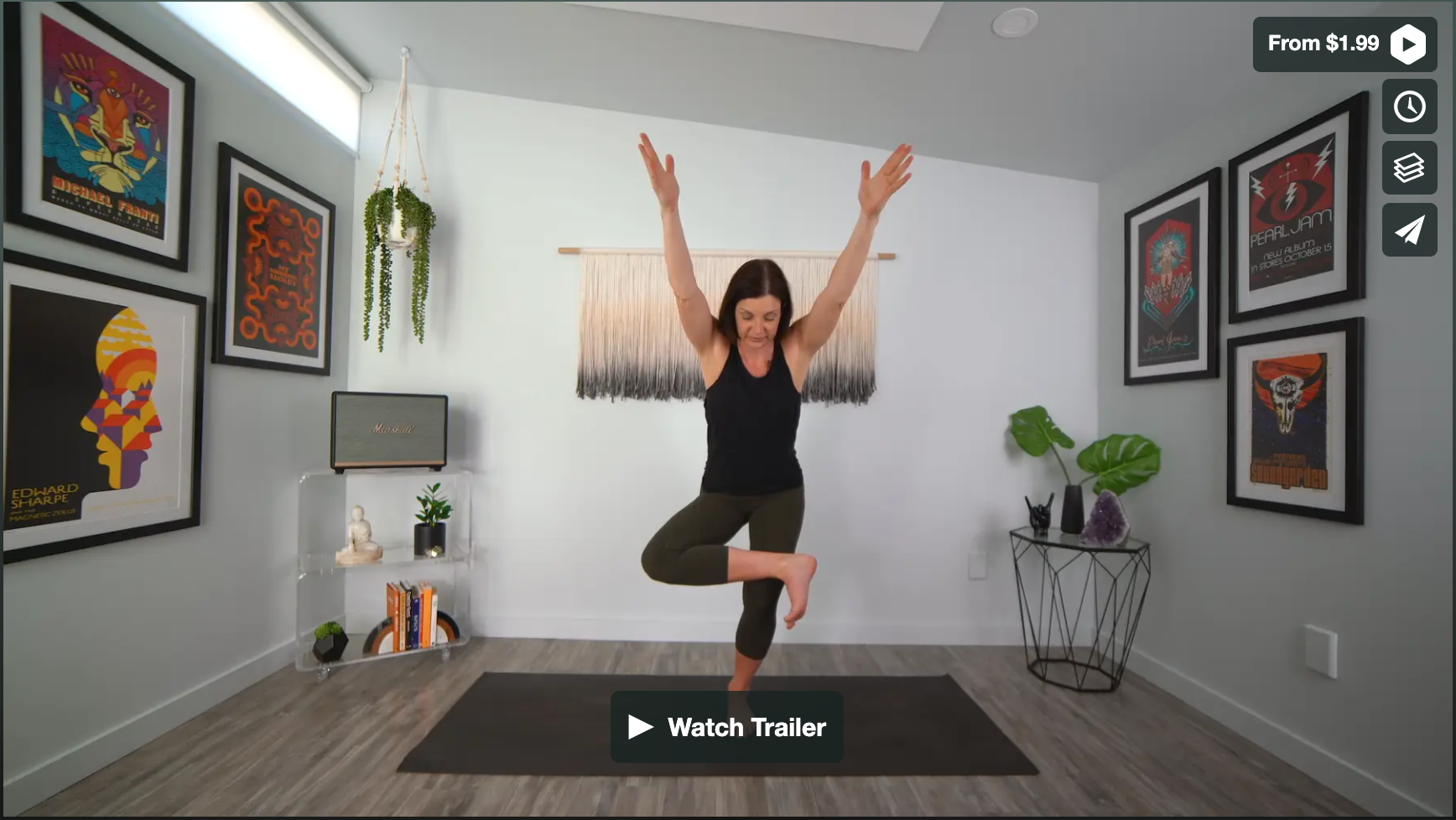 Come Into Focus Yoga Home Practice with Gina Caputo