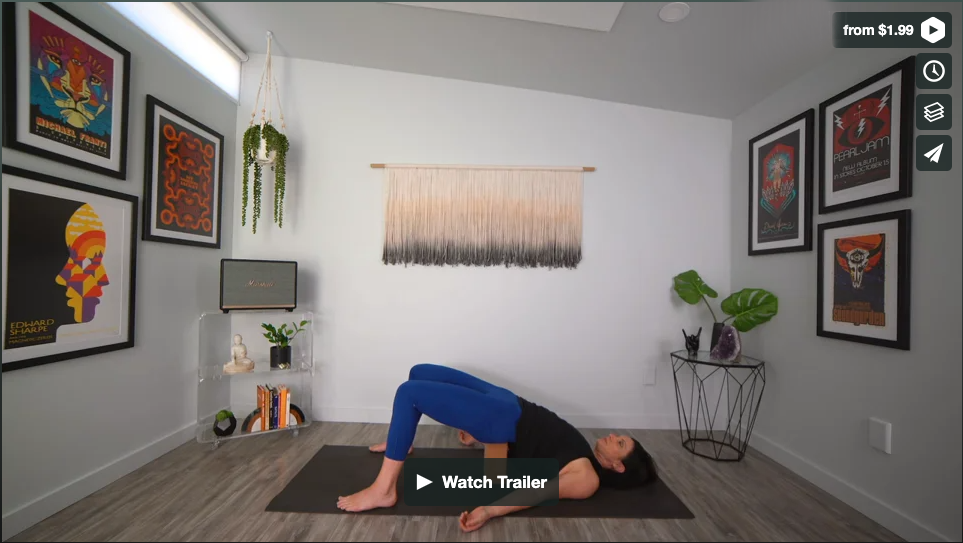 Wind Down Yoga Home Practice with Gina Caputo