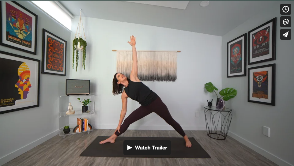 Sweet Simplicity Yoga Home Practice with Gina Caputo