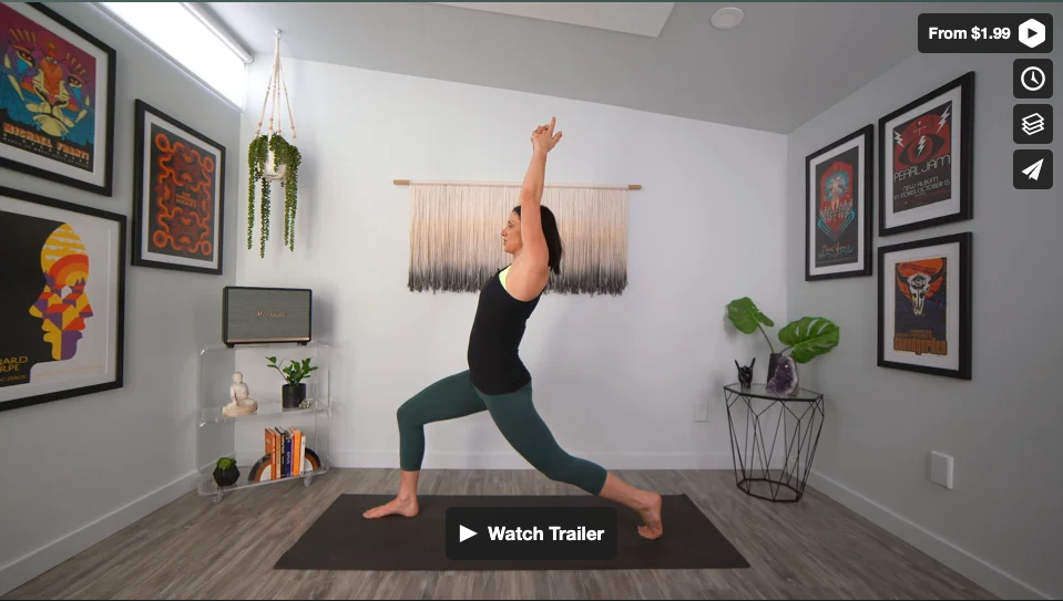 Lit From Within Yoga Home Practice with Gina Caputo