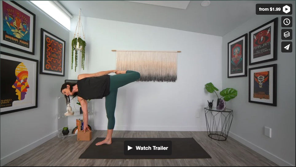 Like A River Flows Yoga Home Practice with Gina Caputo