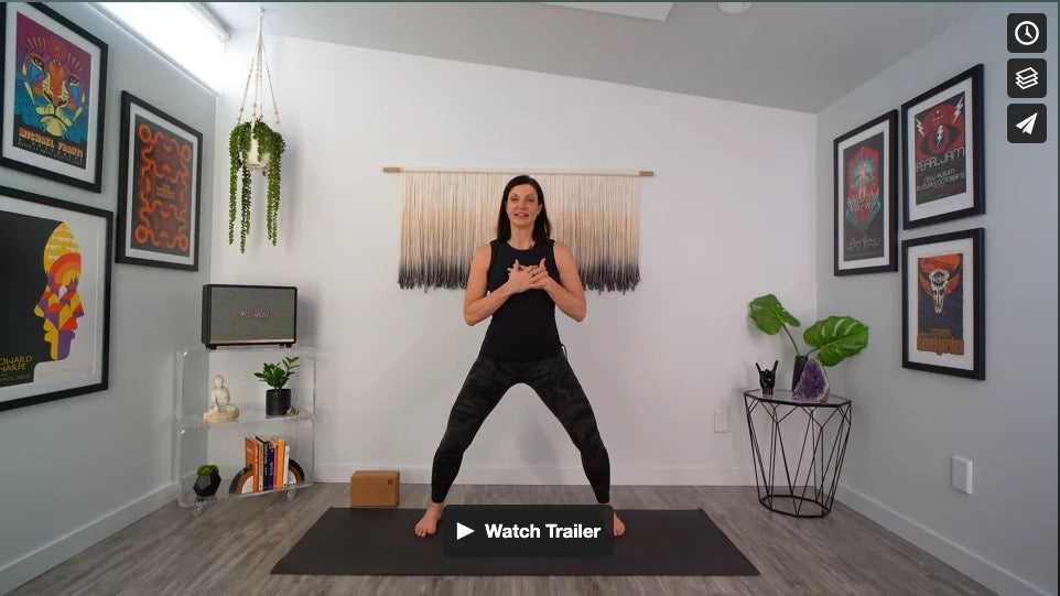 Steady & Strong Yoga Home Practice with Gina Caputo