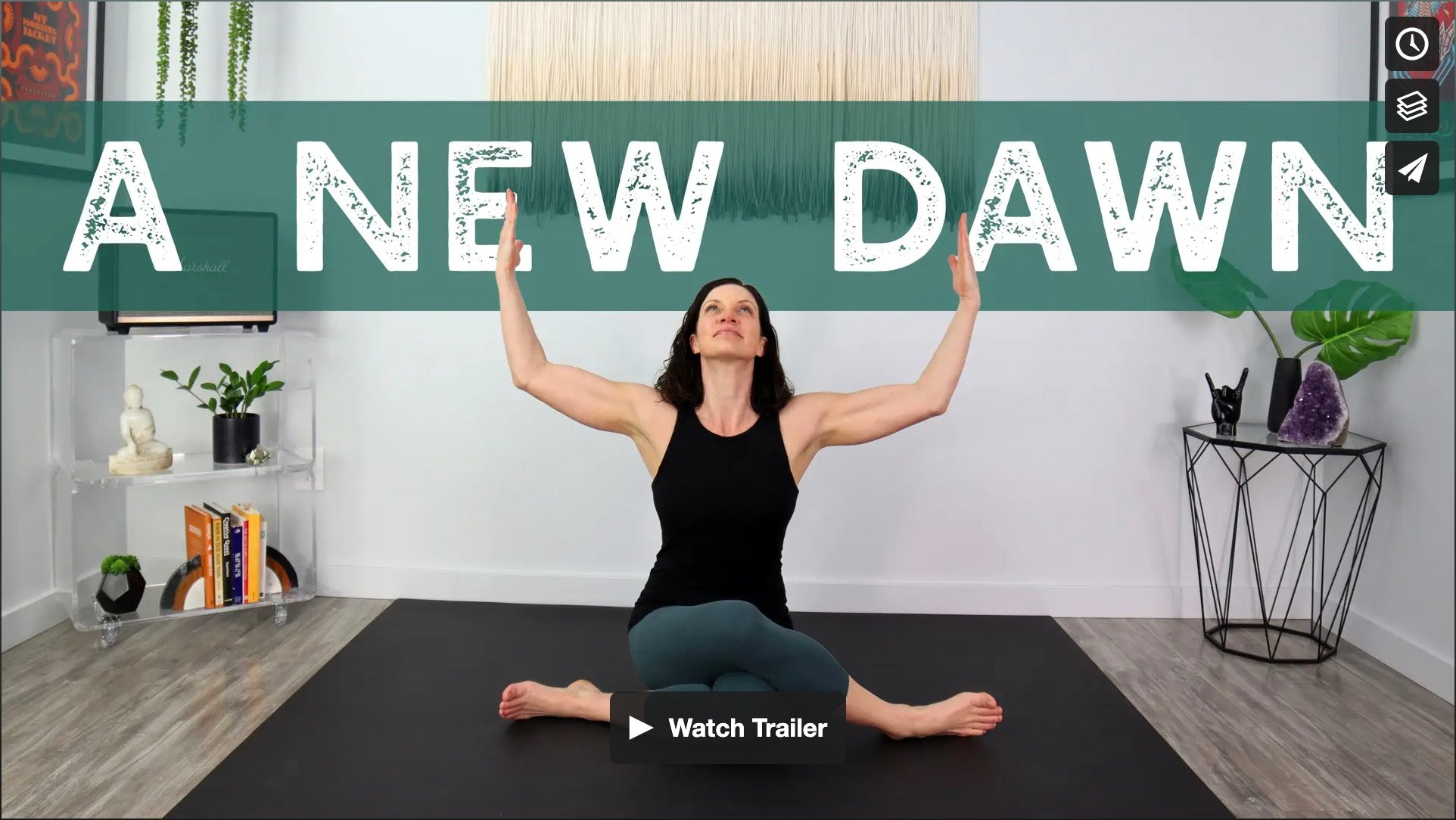 A New Dawn Yoga Home Practice with Gina Caputo