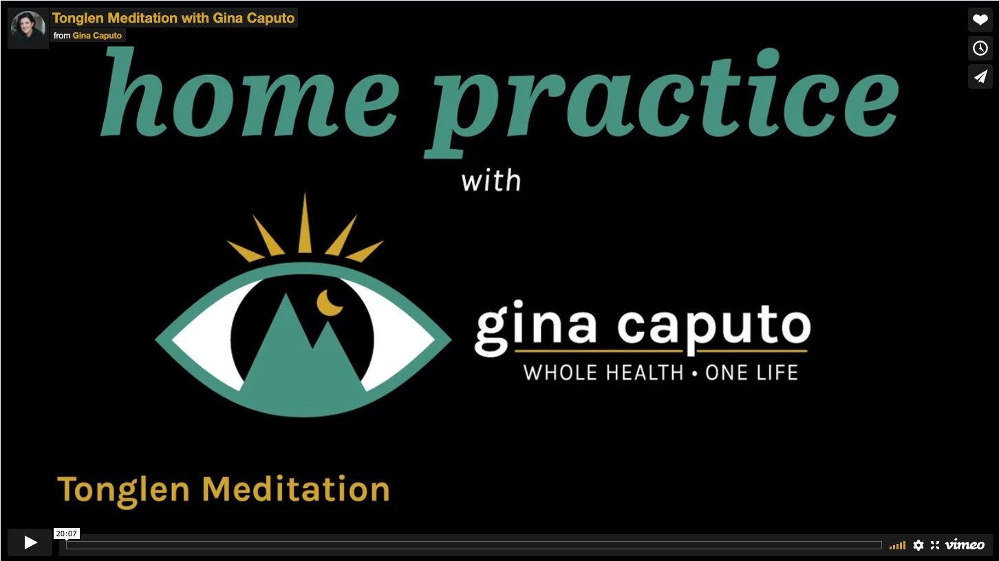 Tonglen Meditation with Gina Caputo By Donation for Victims of the King Soopers shooting
