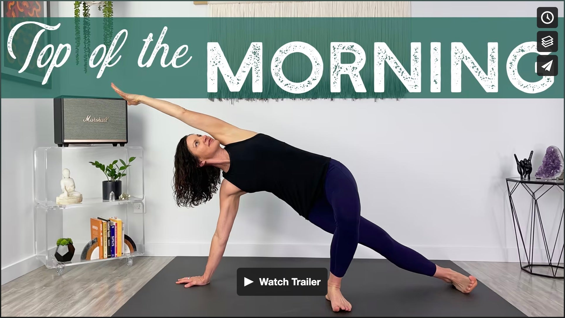Top Of The Morning Yoga Home Practice with Gina Caputo Health Coach