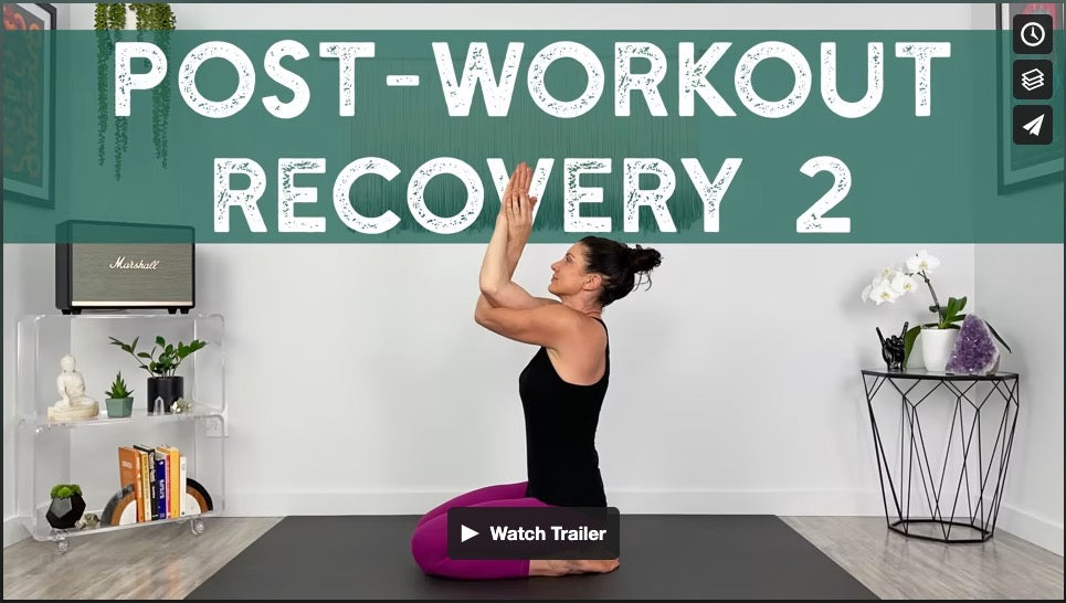 Post-Workout Recovery 2 Yoga Home Practice with Gina Caputo Health Coach