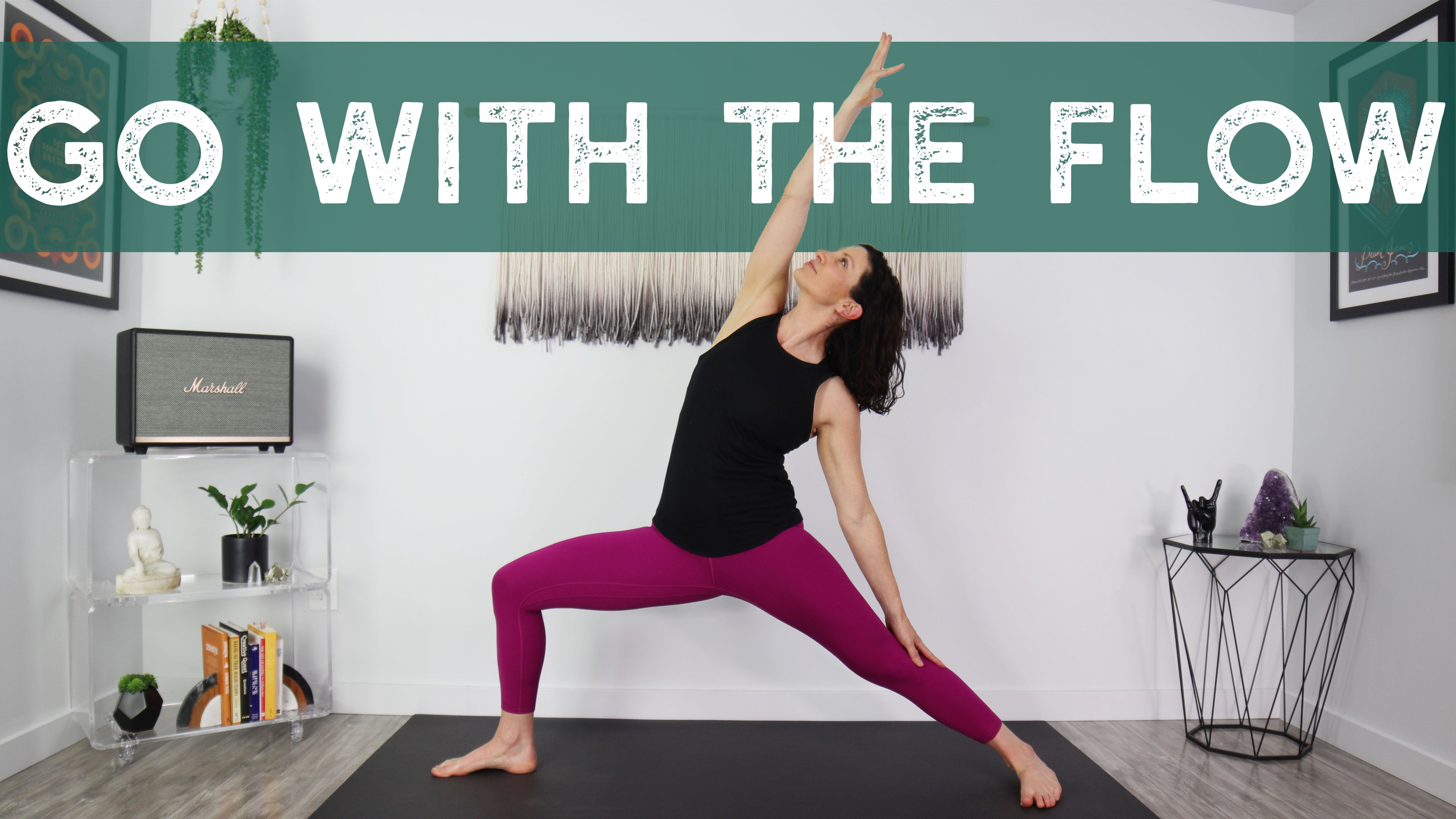 Go With The Flow Yoga Home Practice with Gina Caputo