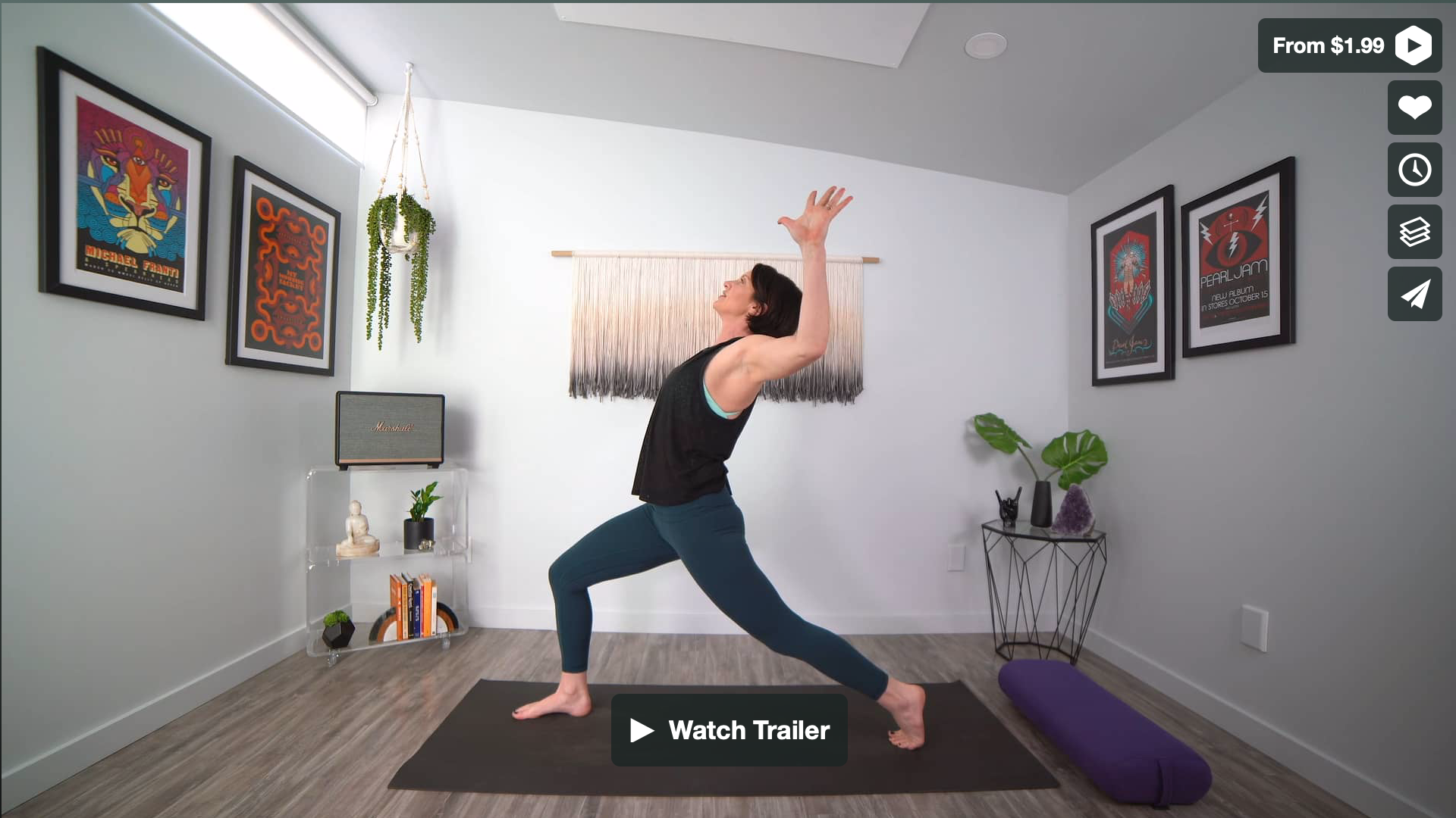 Stay Grounded Stay Open Yoga Home Practice with Gina Caputo