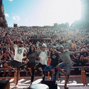 Yoga Jam with Michael Franti at Red Rocks Amphitheater