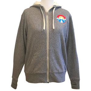 Fleece Hoodie Heather Gray
