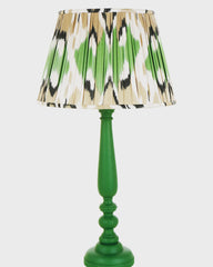 Green Love Ikat Lampshade by Melodi Horne