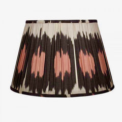 Pink Polka Ikat Lampshade by Melodi Horne