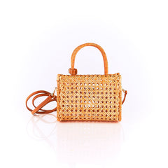 Serpui Sue mini Wicker Bag