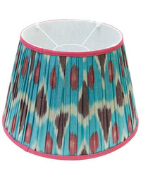 Owl Ikat Lampshade by Melodi Horne