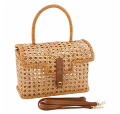 Serpui Ana Liza Wicker Clutch