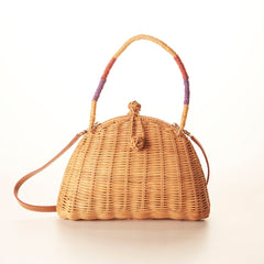 Serpui Normani Wicker Bag