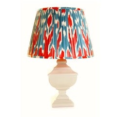 Cardinal Ikat Lampshade by Melodi Horne