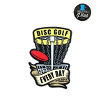 Disc Golf Every Day Pin