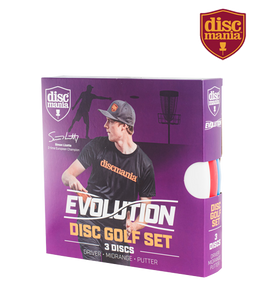 Discmania Evolution Disc Golf Set