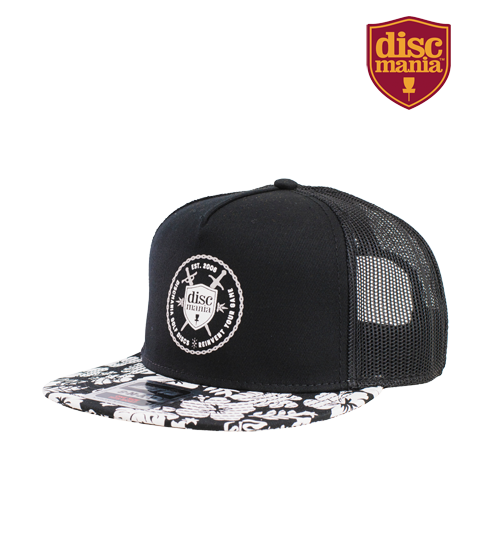 Discmania Shield & Swords Hawaiian Snapback Trucker Hat