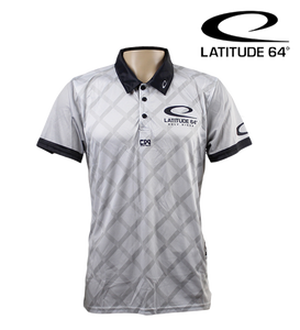 Latitude 64 Polo Shirt Fence Grå