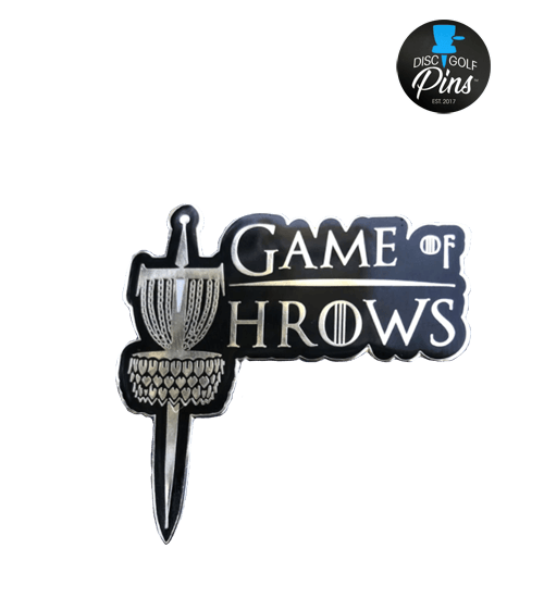 Game of Throws Disc Golf Pin