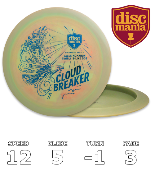 Cloud Breaker - Eagle McMahon Signature Series Swirly S-line DD3